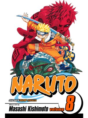 cover image of Naruto, Volume 8