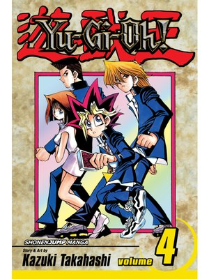 cover image of Yu-Gi-Oh!, Volume 4