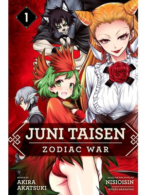 cover image of Juni Taisen: Zodiac War, Volume 1