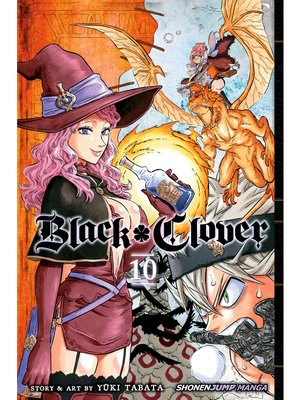 cover image of Black Clover, Volume 10
