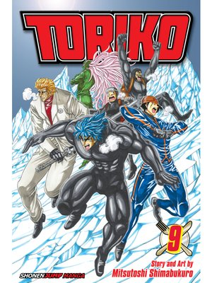 cover image of Toriko, Volume 9