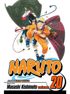 cover image of Naruto, Volume 20
