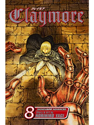 cover image of Claymore, Volume 8