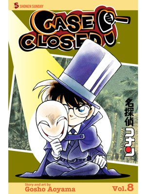 cover image of Case Closed, Volume 8