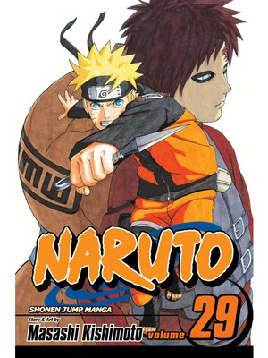 cover image of Naruto, Volume 29