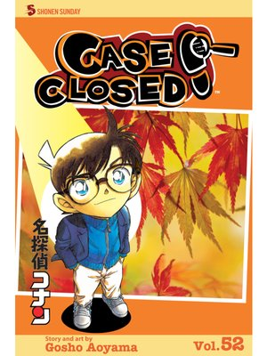 cover image of Case Closed, Volume 52