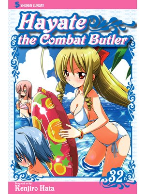 cover image of Hayate the Combat Butler, Volume 32