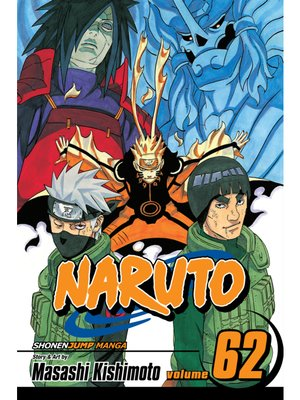 cover image of Naruto, Volume 62