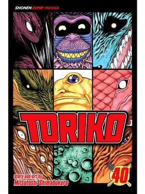 cover image of Toriko, Volume 40