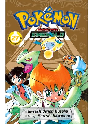 cover image of Pokémon Adventures, Volume 27