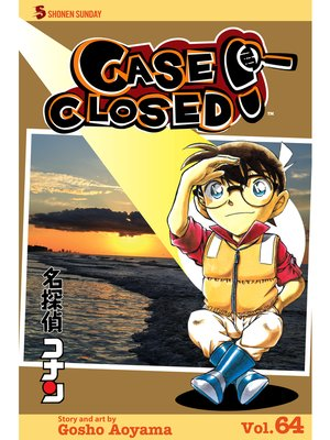 cover image of Case Closed, Volume 64