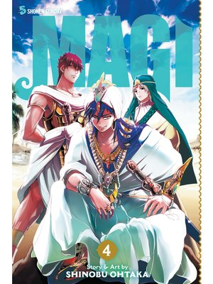 cover image of Magi: The Labyrinth of Magic, Volume 4