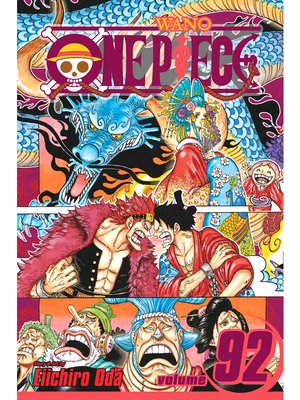 cover image of One Piece, Volume 92