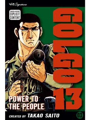 cover image of Golgo 13, Volume 3