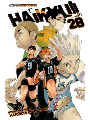 cover image of Haikyu!!, Volume 28