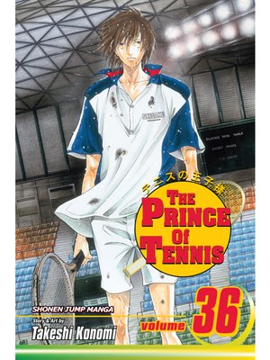 cover image of The Prince of Tennis, Volume 36