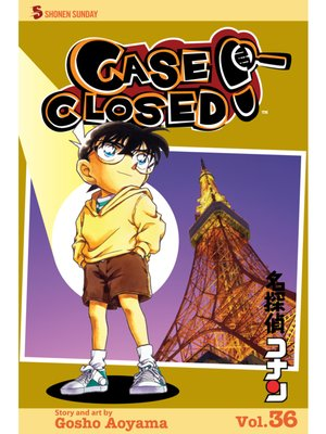 cover image of Case Closed, Volume 36