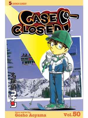 cover image of Case Closed, Volume 50