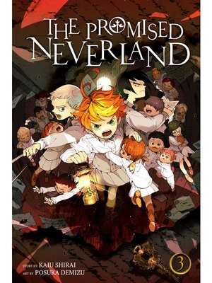 cover image of The Promised Neverland, Volume 3