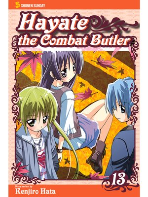cover image of Hayate the Combat Butler, Volume 13