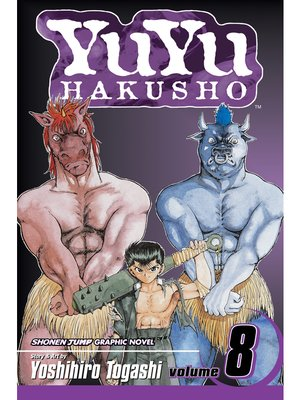 cover image of YuYu Hakusho, Volume 8