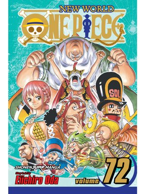 cover image of One Piece, Volume 72