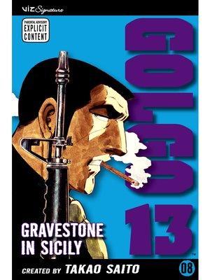 cover image of Golgo 13, Volume 8