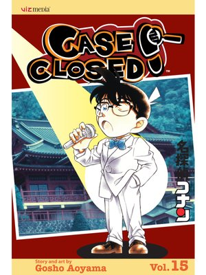 cover image of Case Closed, Volume 15