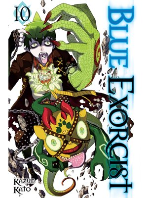 cover image of Blue Exorcist, Volume 10