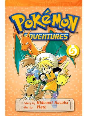 cover image of Pokémon Adventures, Volume 5