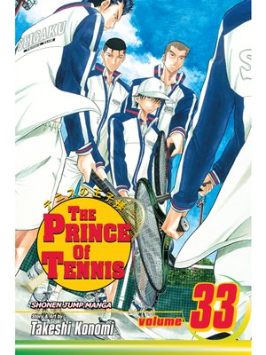 cover image of The Prince of Tennis, Volume 33