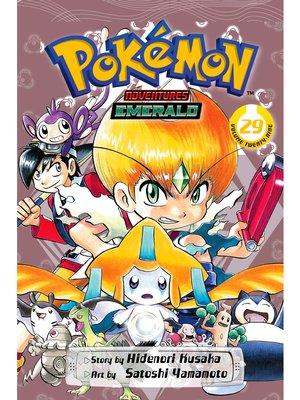 cover image of Pokémon Adventures, Volume 29