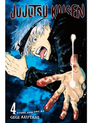 cover image of Jujutsu Kaisen, Volume 4