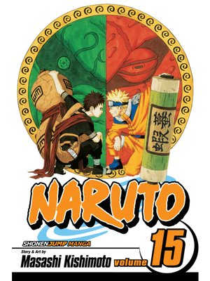 cover image of Naruto, Volume 15