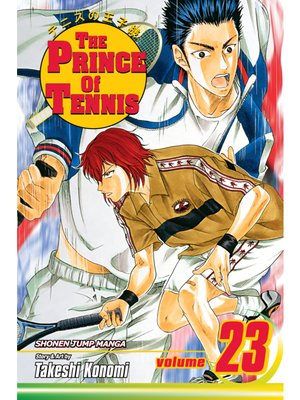 cover image of The Prince of Tennis, Volume 23
