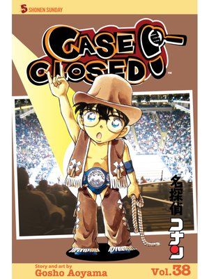 cover image of Case Closed, Volume 38