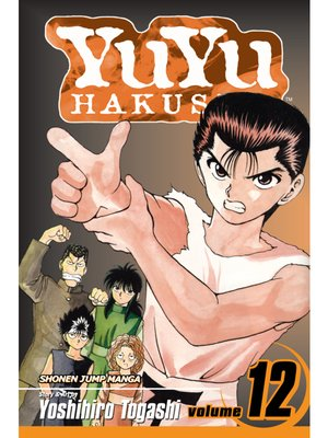 cover image of YuYu Hakusho, Volume 12