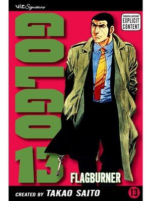 cover image of Golgo 13, Volume 13