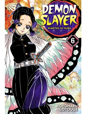 cover image of Demon Slayer: Kimetsu no Yaiba, Volume 6