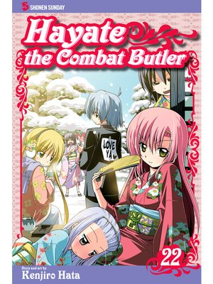 cover image of Hayate the Combat Butler, Volume 22