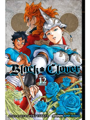 cover image of Black Clover, Volume 12