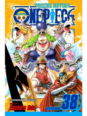 cover image of One Piece, Volume 38