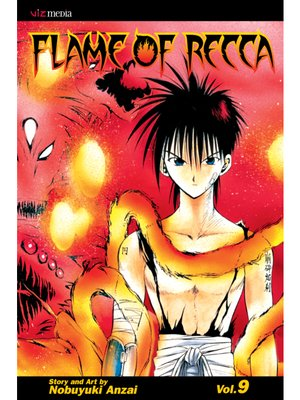 cover image of Flame of Recca, Volume 9