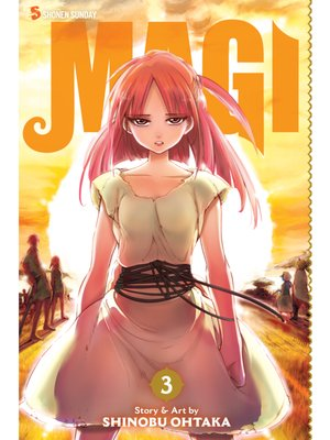 cover image of Magi: The Labyrinth of Magic, Volume 3