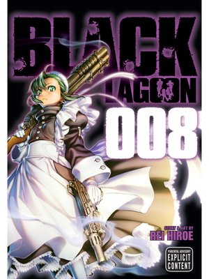 cover image of Black Lagoon, Volume 8