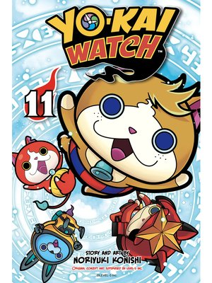cover image of YO-KAI WATCH, Volume 11
