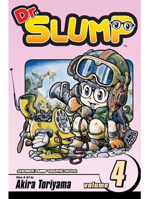 cover image of Dr. Slump, Volume 4