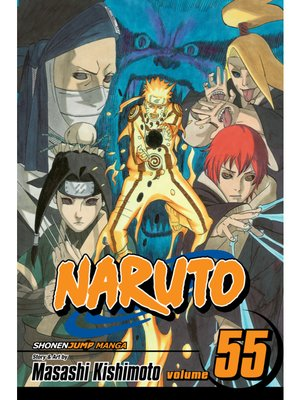cover image of Naruto, Volume 55