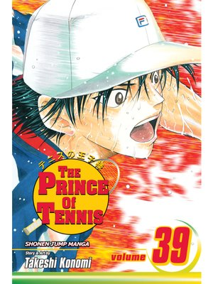cover image of The Prince of Tennis, Volume 39