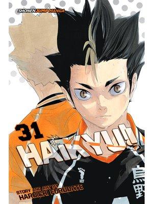cover image of Haikyu!!, Volume 31